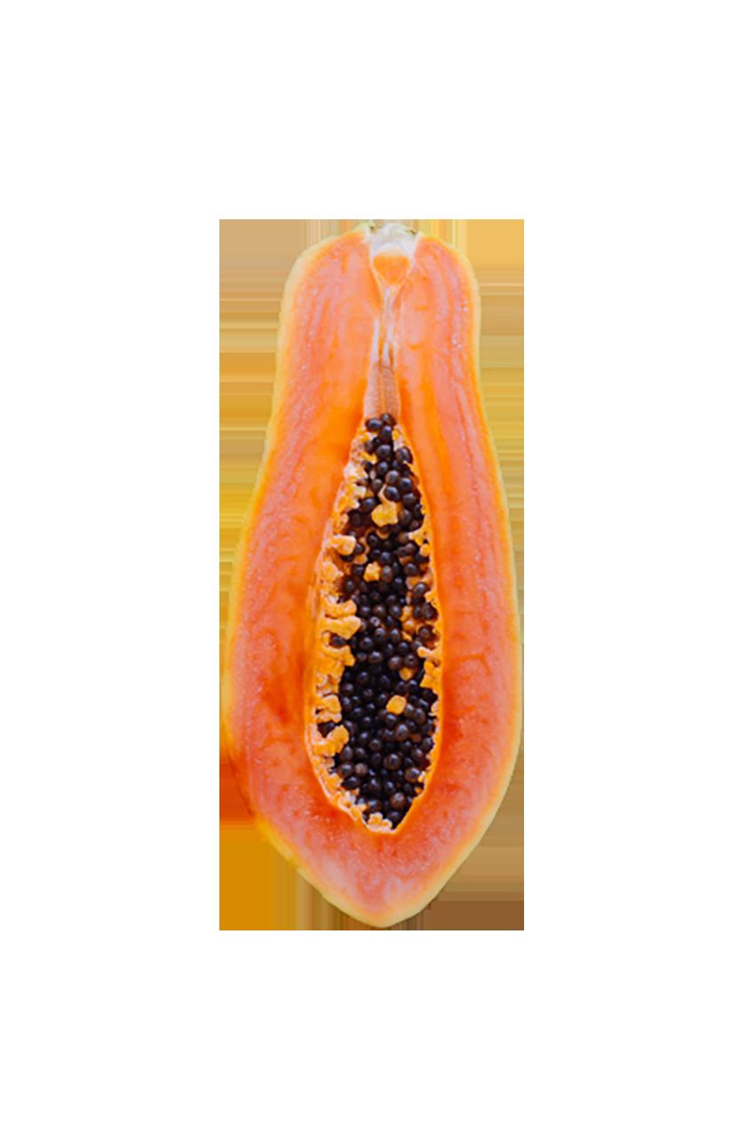Reddish papaya transparent background PNG