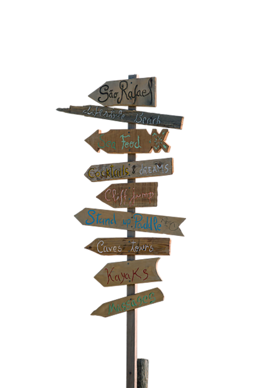 Wooden arrows showing direction transparent background PNG