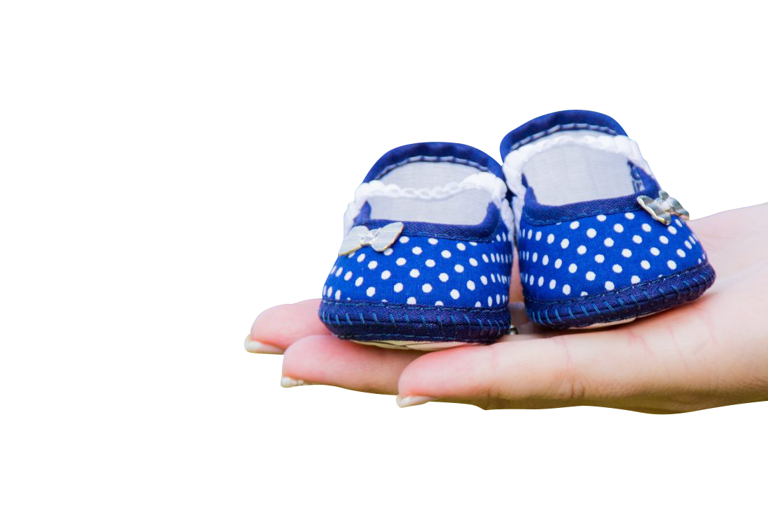 Blue Baby Shoes Transparent Background PNG