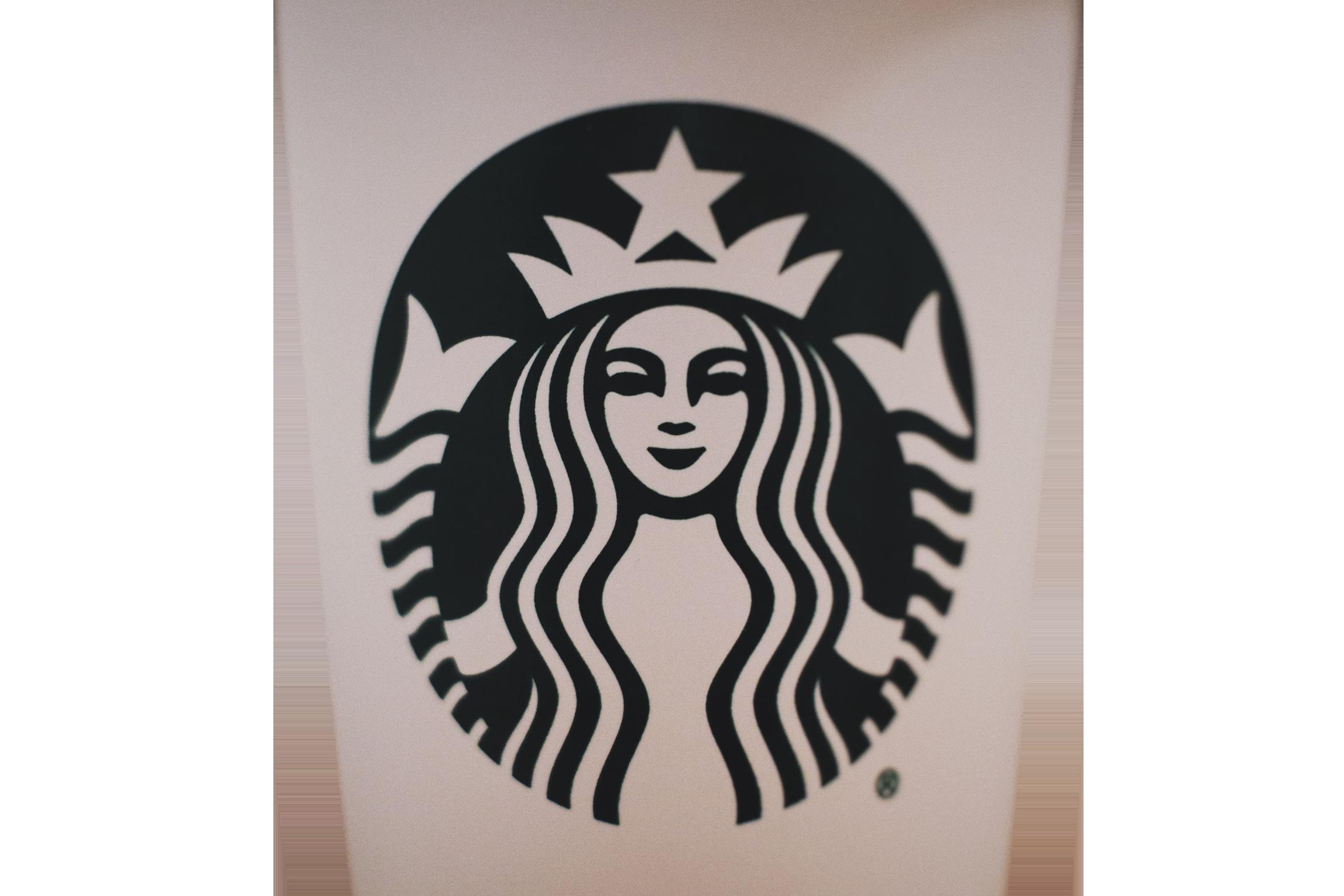 Starbucks company logo transparent background PNG