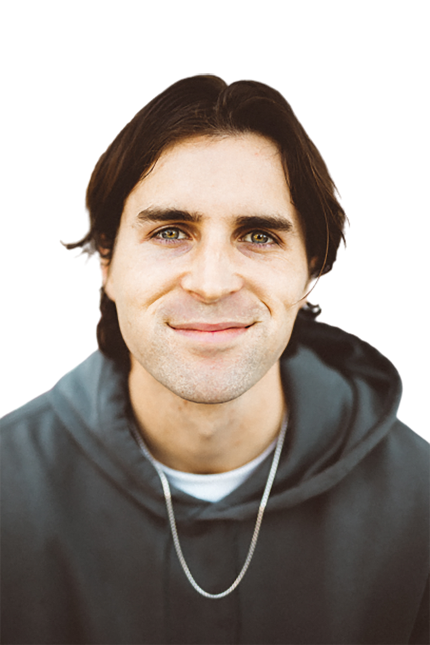 Man with a black hoodie transparent background PNG