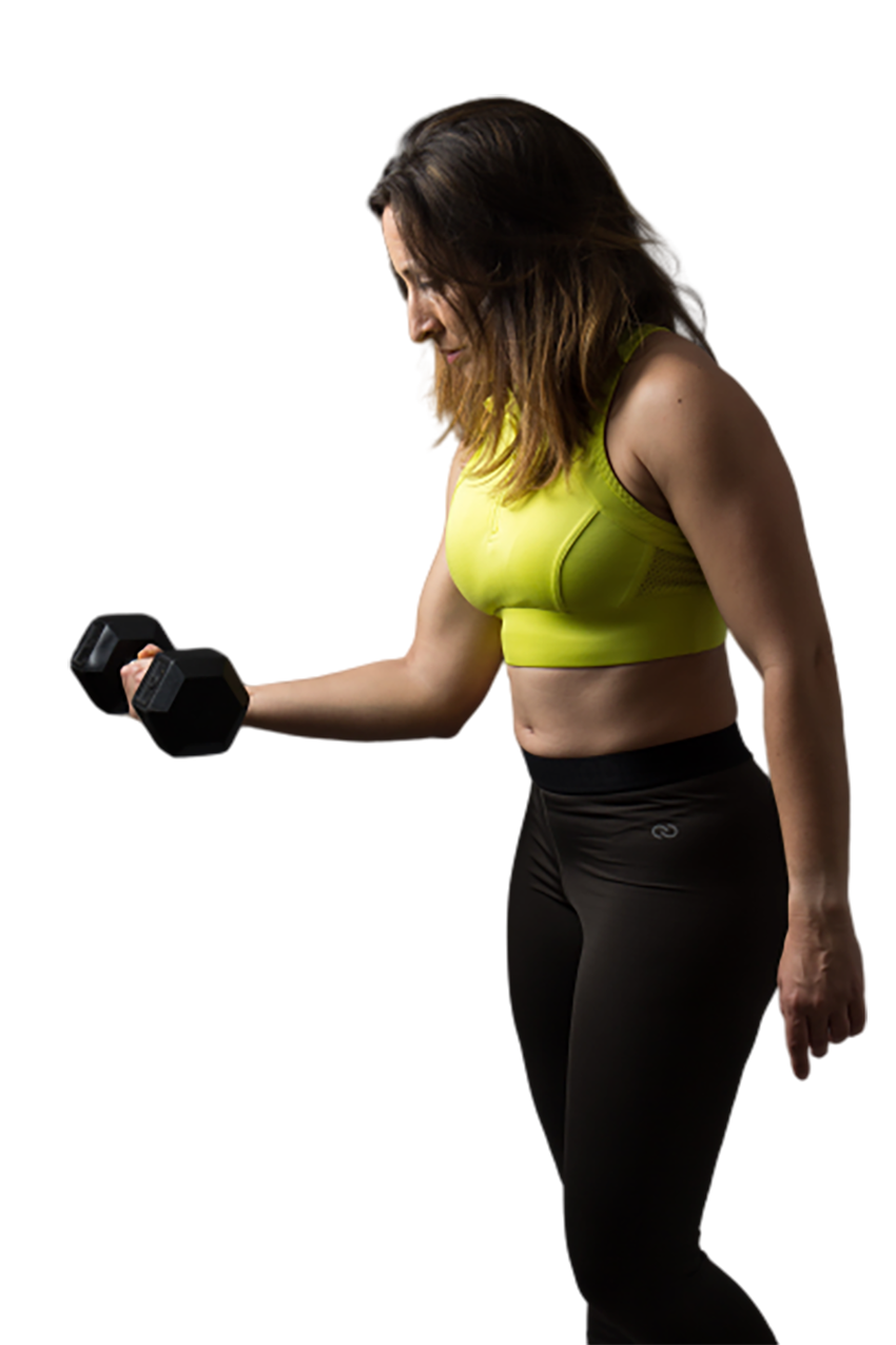 Woman doing excercise transparent background PNG