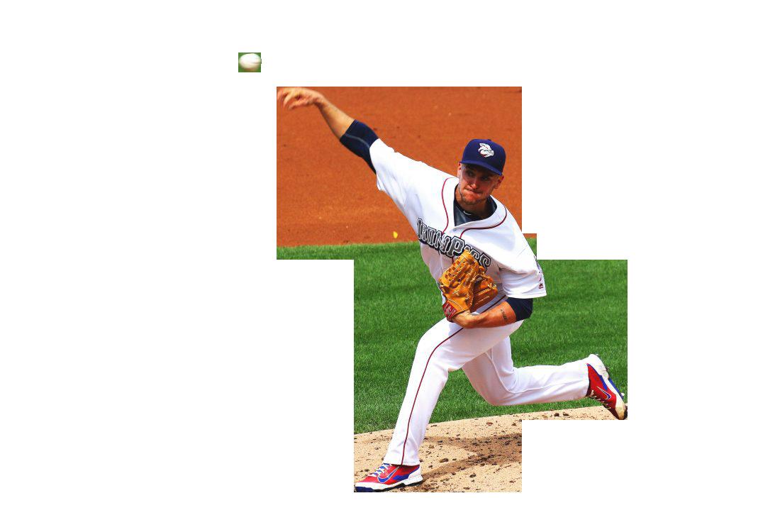 Baseball Throwing Man Transparent Background PNG