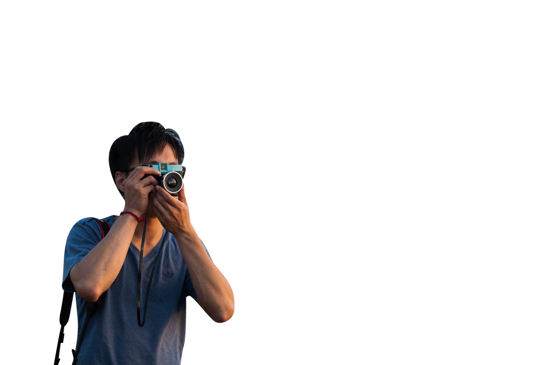 Photographer taking picture Transparent Background PNG