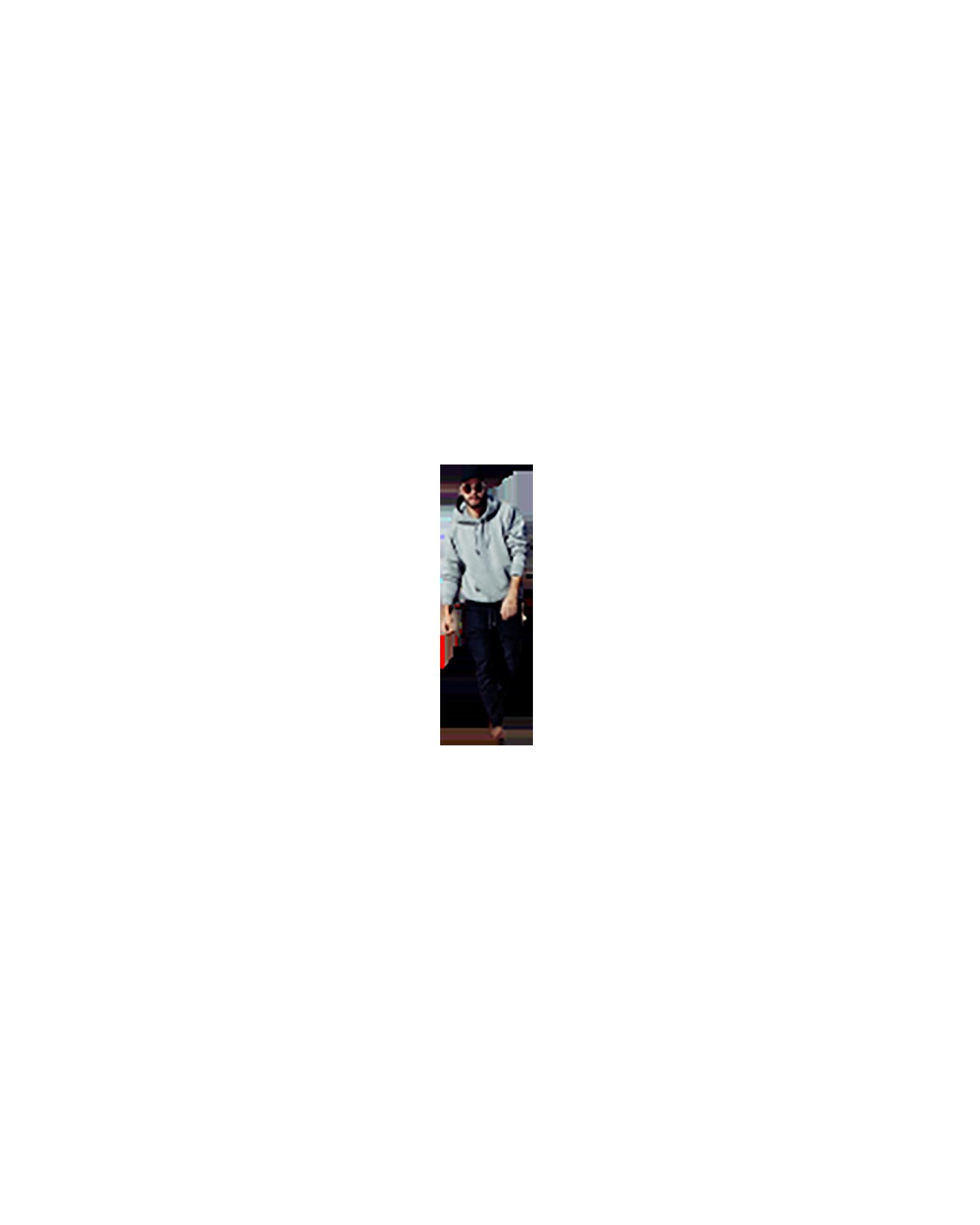 Stylish man walking transparent background PNG