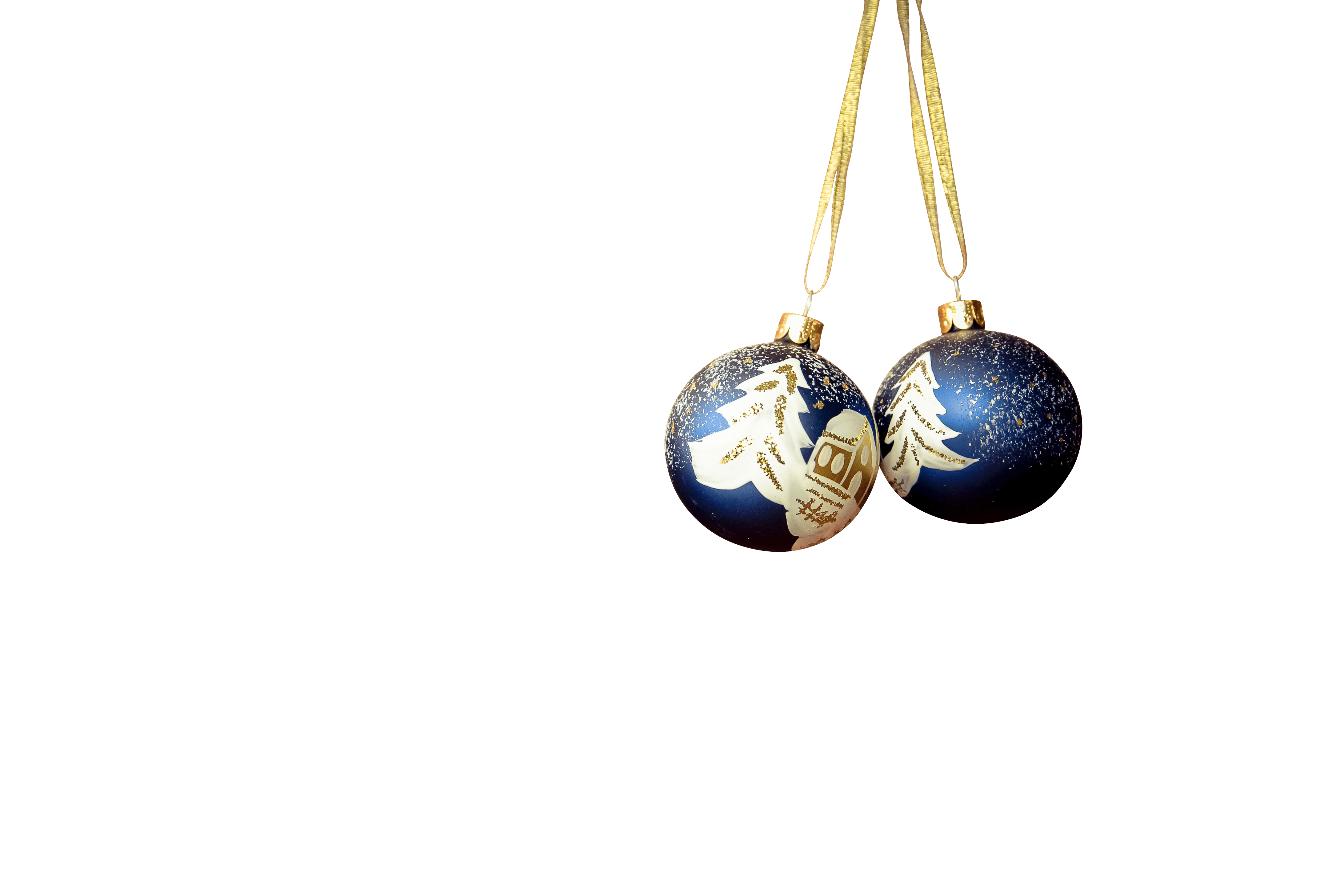 Christmas and new year balls transparent background.png