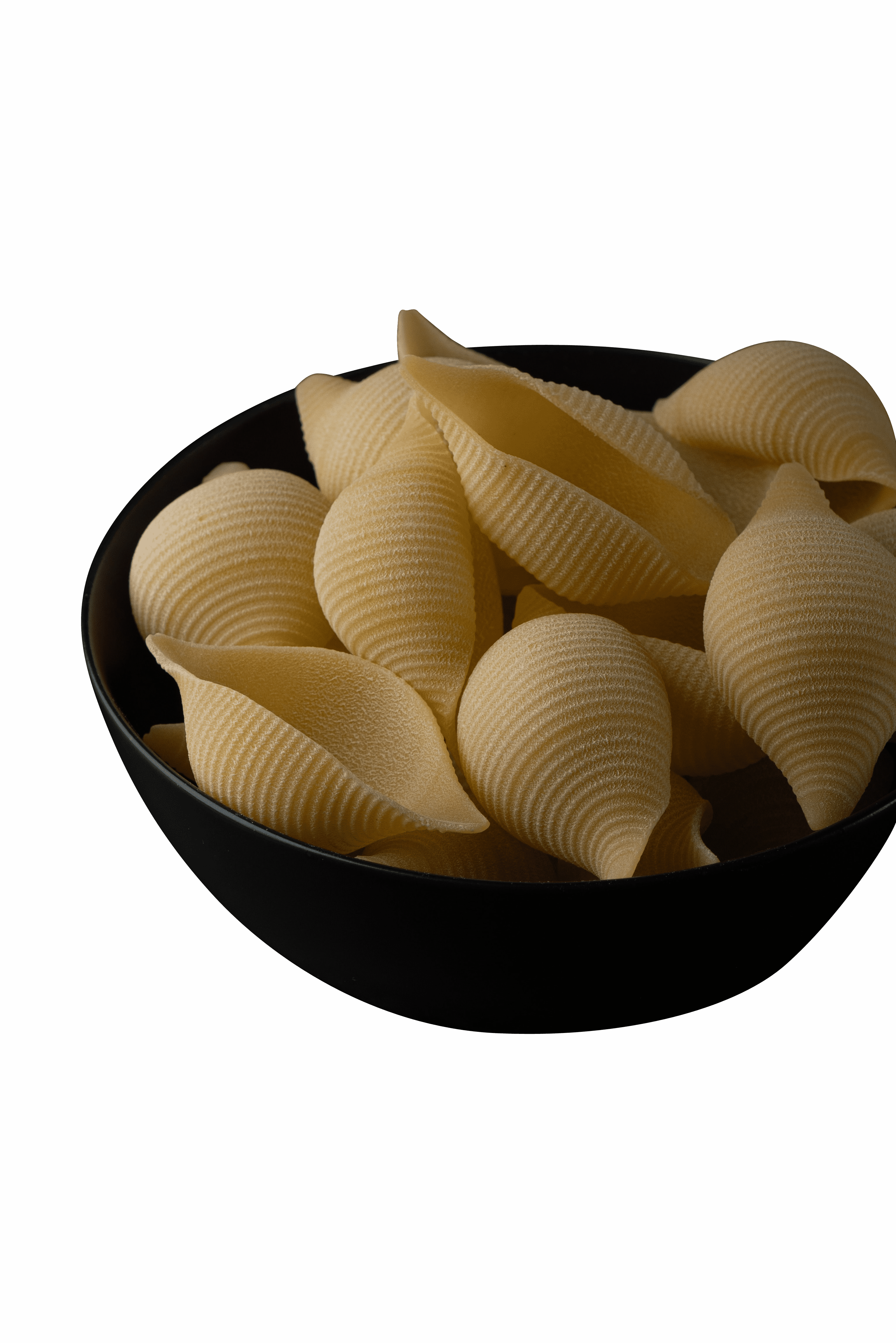 Sea shells in black bowl transparent background.png