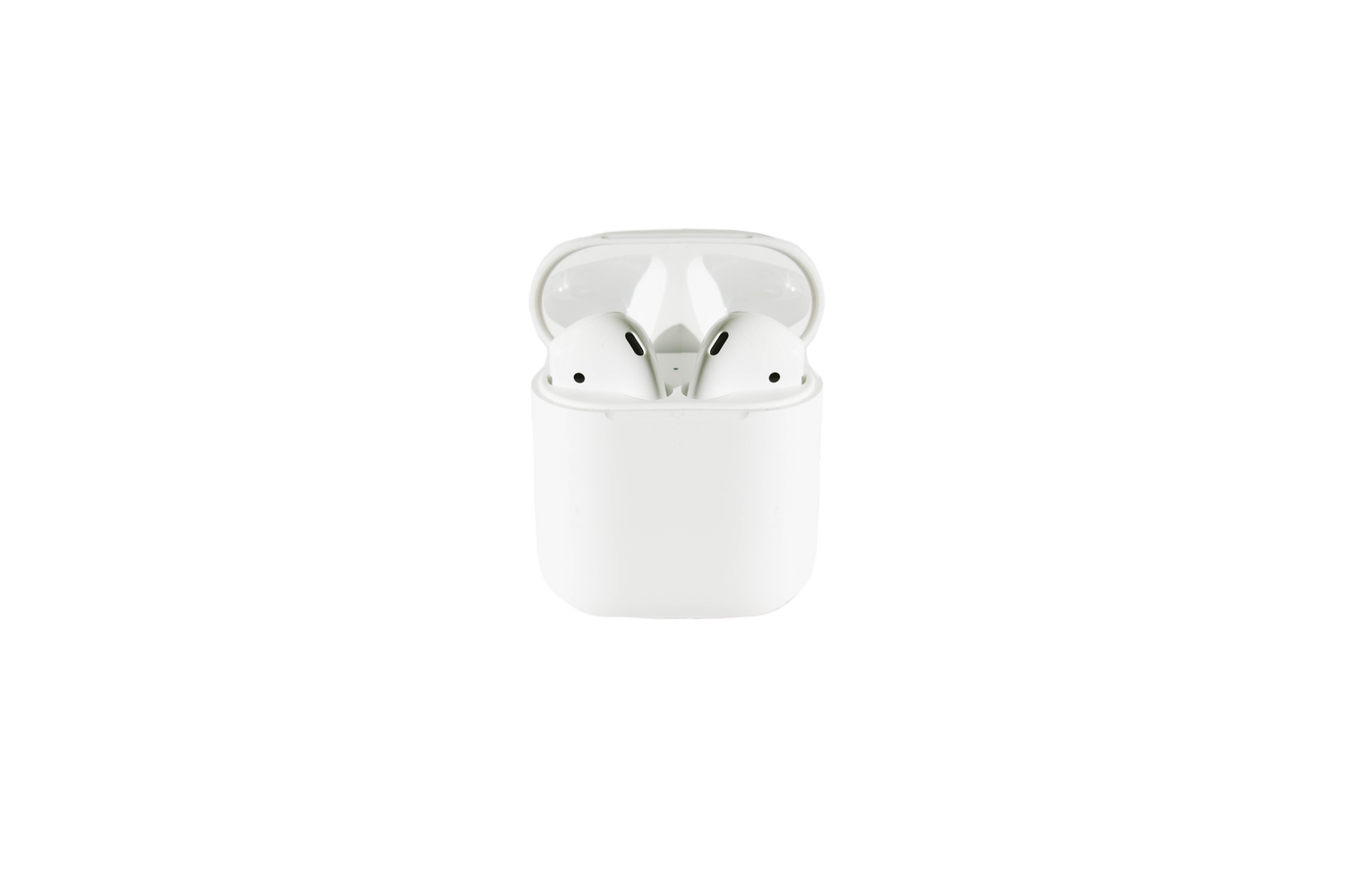 Airpod with the charging case transparent background PNG