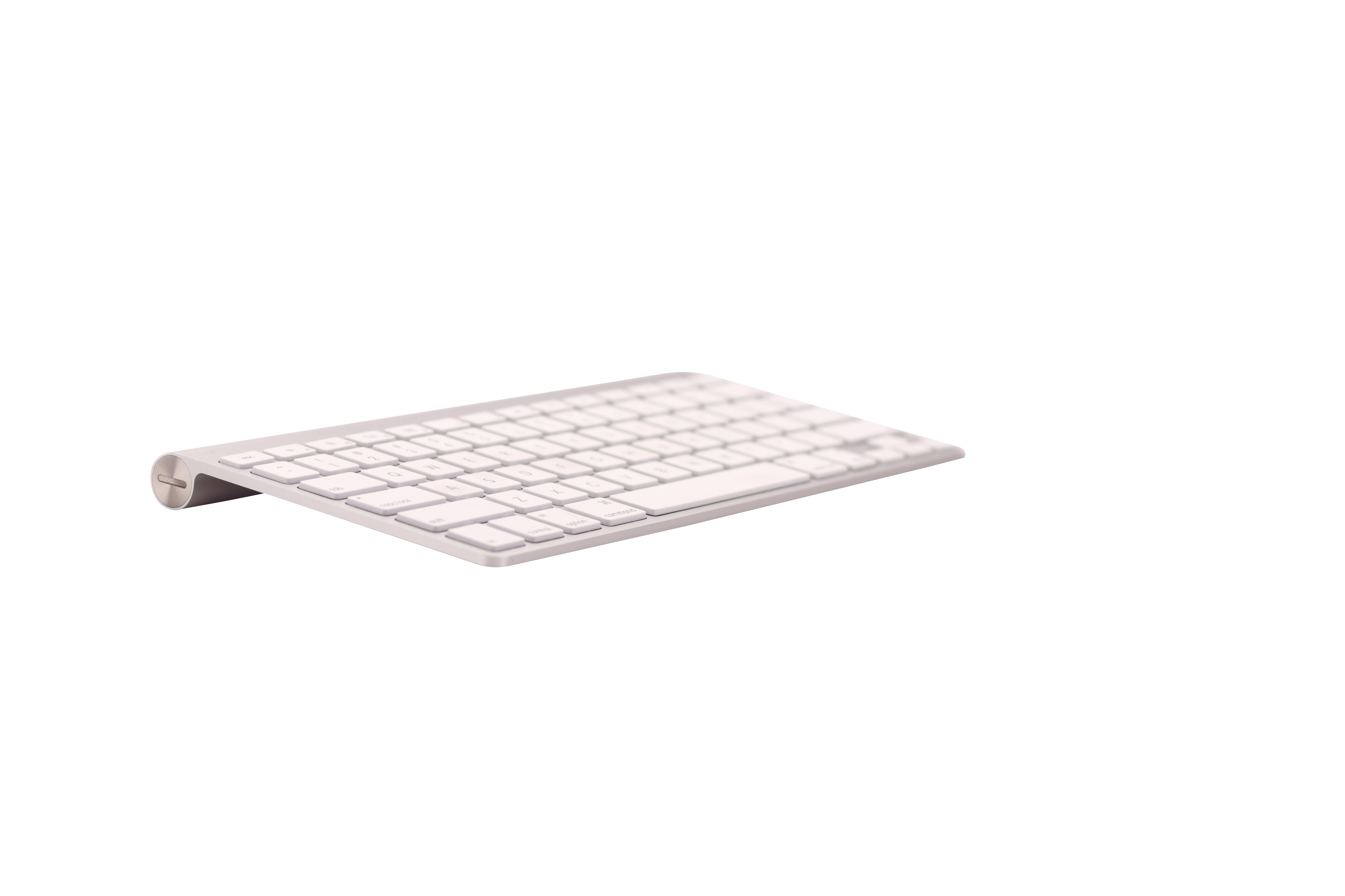 Apple Wireless Keyboard Transparent Background PNG