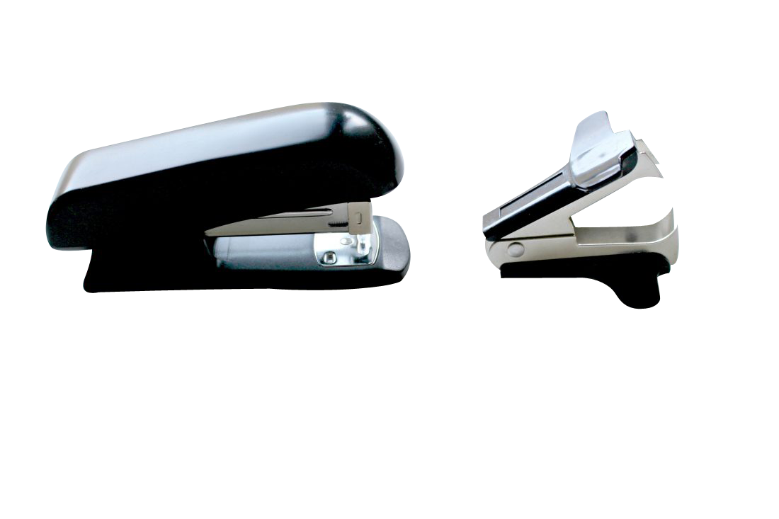 Office Stapler and pin opener Transparent Background PNG