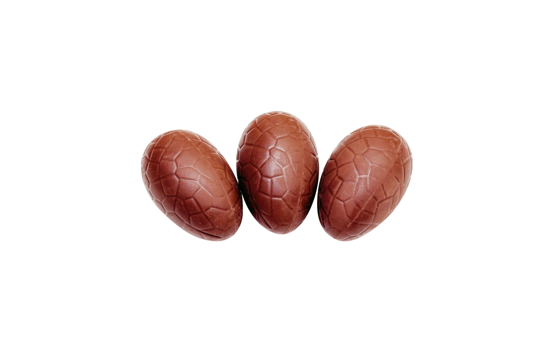 Chocolate eggs Transparent Background PNG