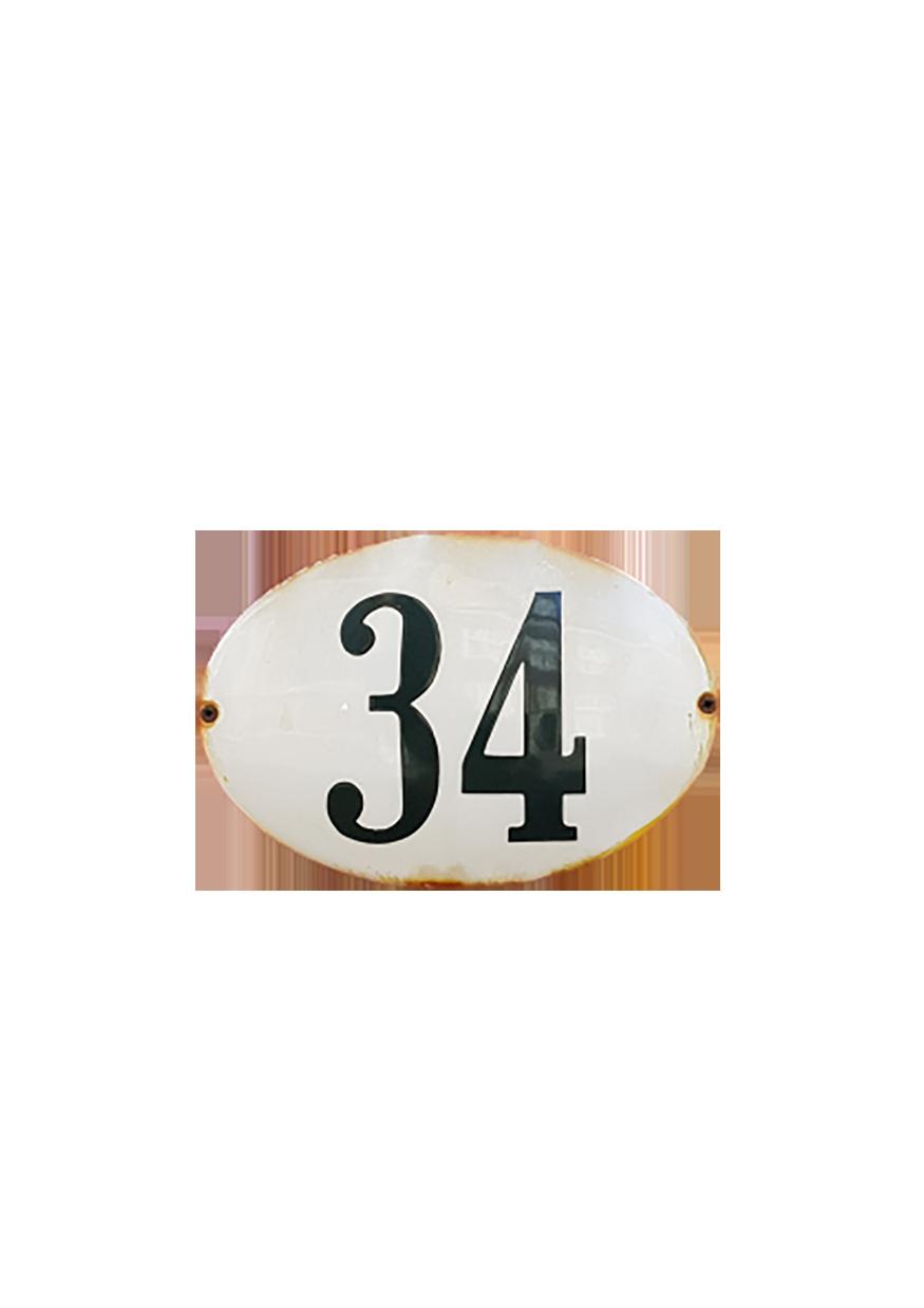 A number 34 transparent background PNG