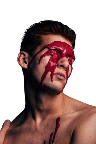 Paint on eyes transparent background PNG