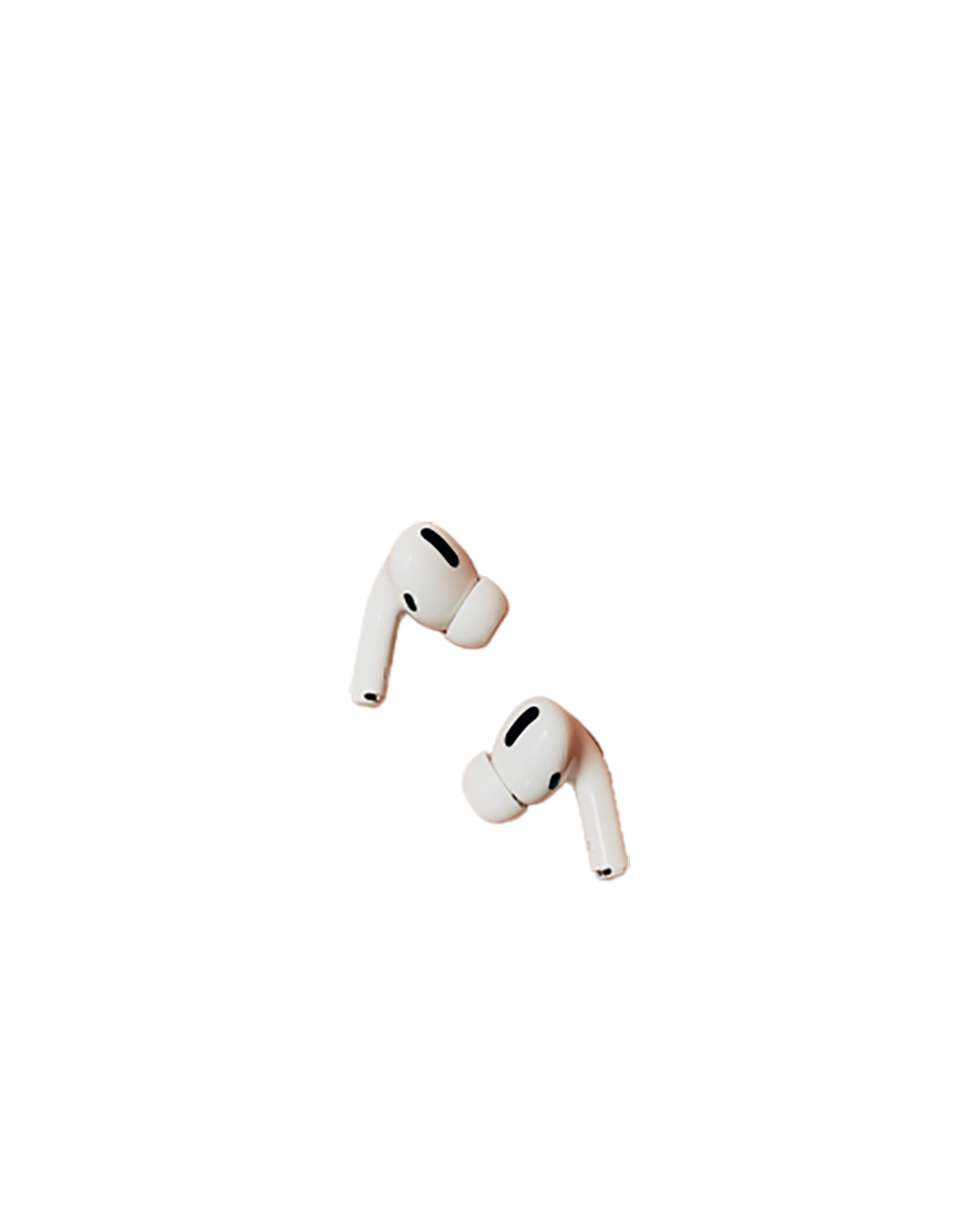 Airpods pro transparent background PNG