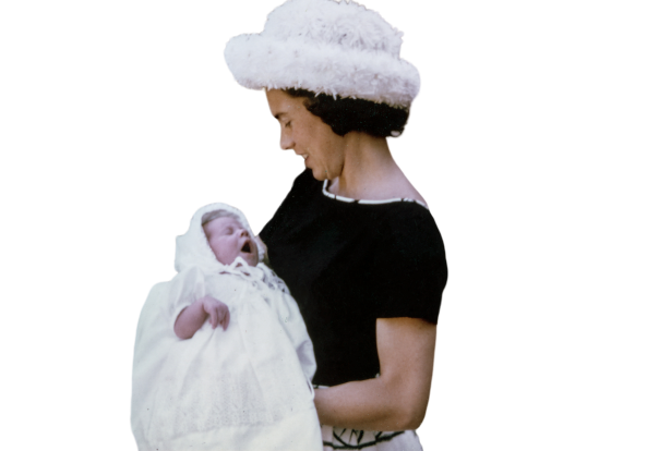 Female with baby Girl transparent background PNG