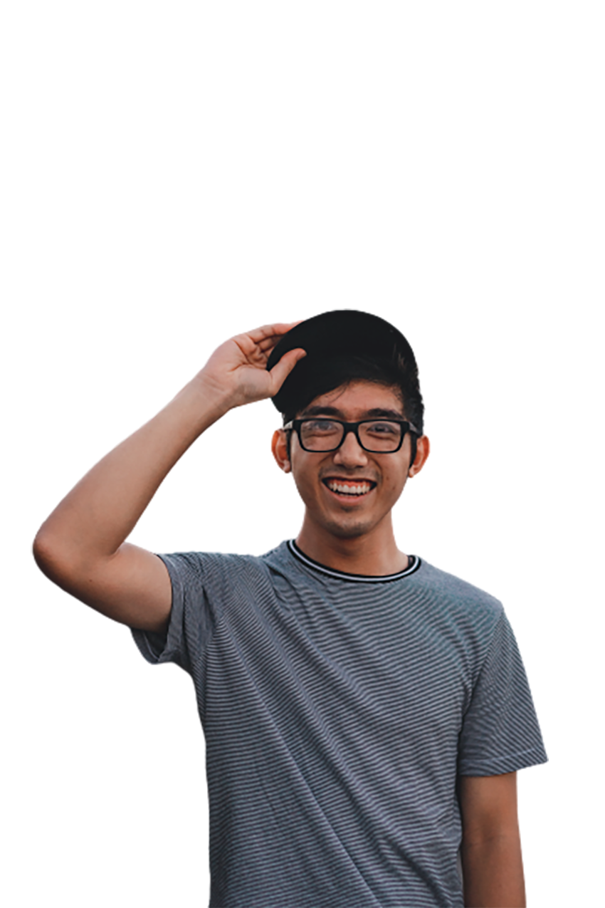 A laughing boy transparent background PNG