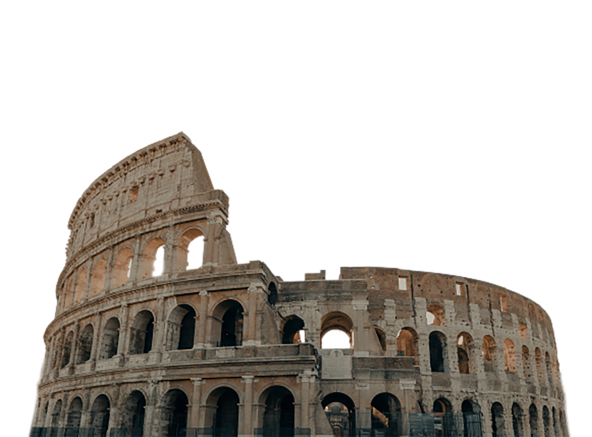 Colosseum transparent background PNG