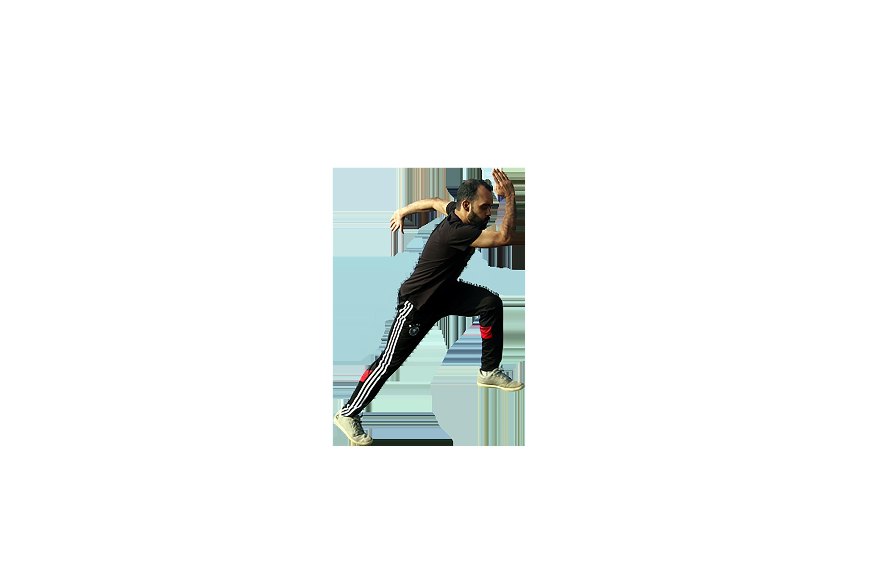 Man doing workout transparent background PNG