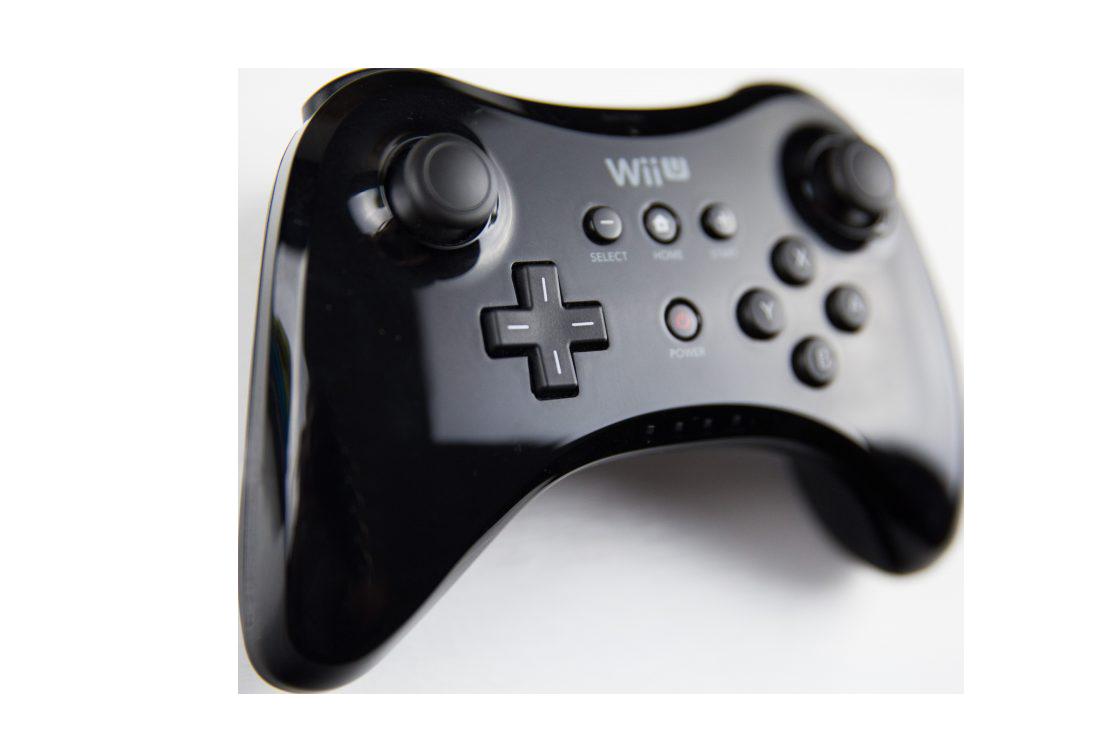 Wii U Pro Controller Transparent Background PNG