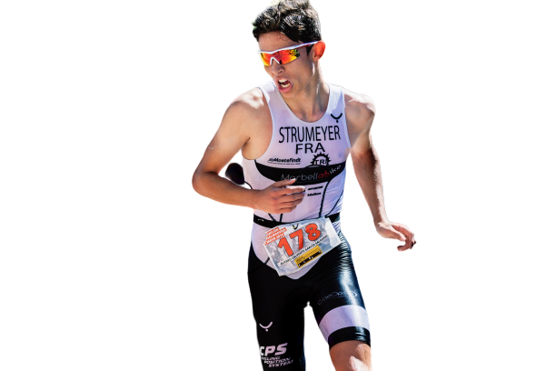 athlete running transparent background PNG
