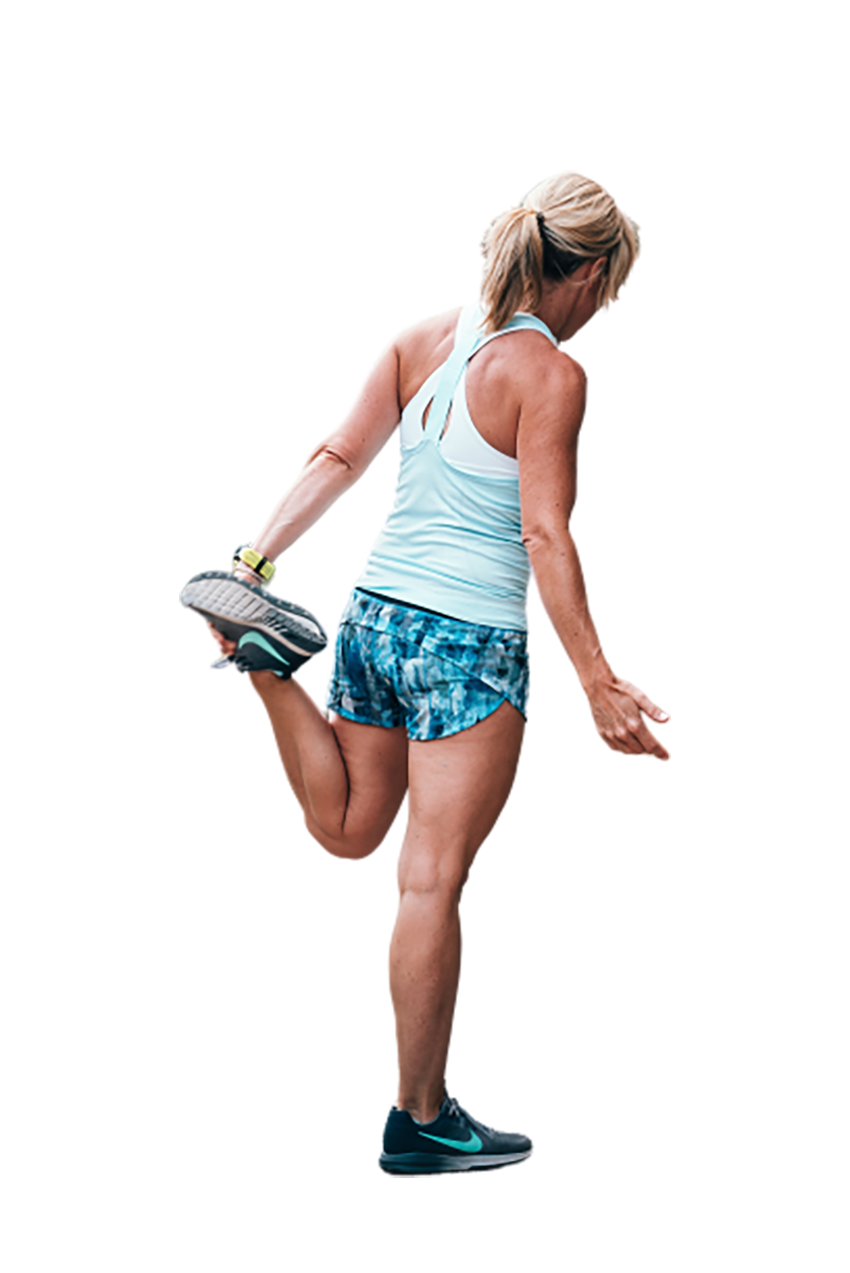 Woman doing workout transparent background PNG