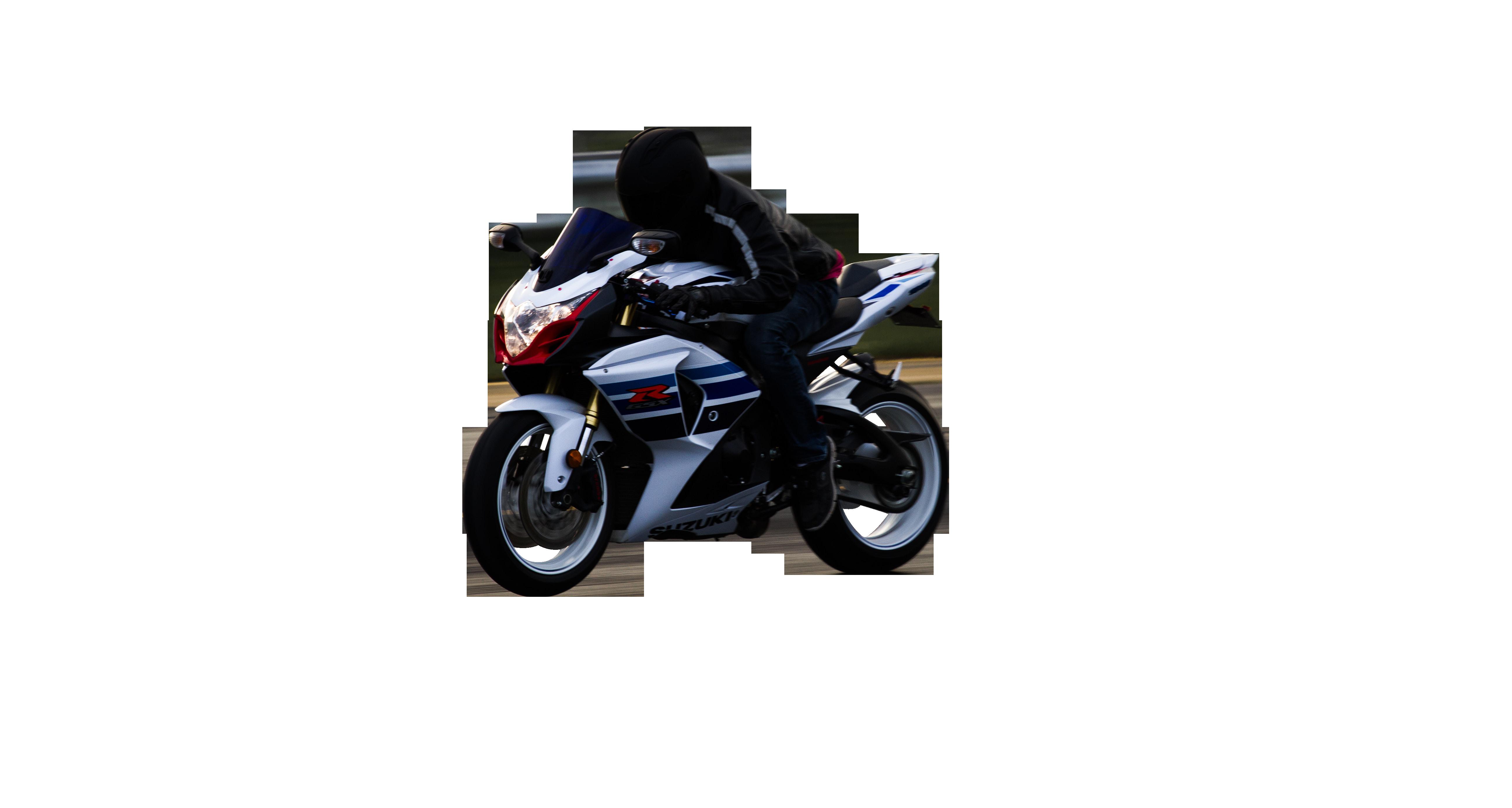 Black Motor Bike Transparent Background PNG