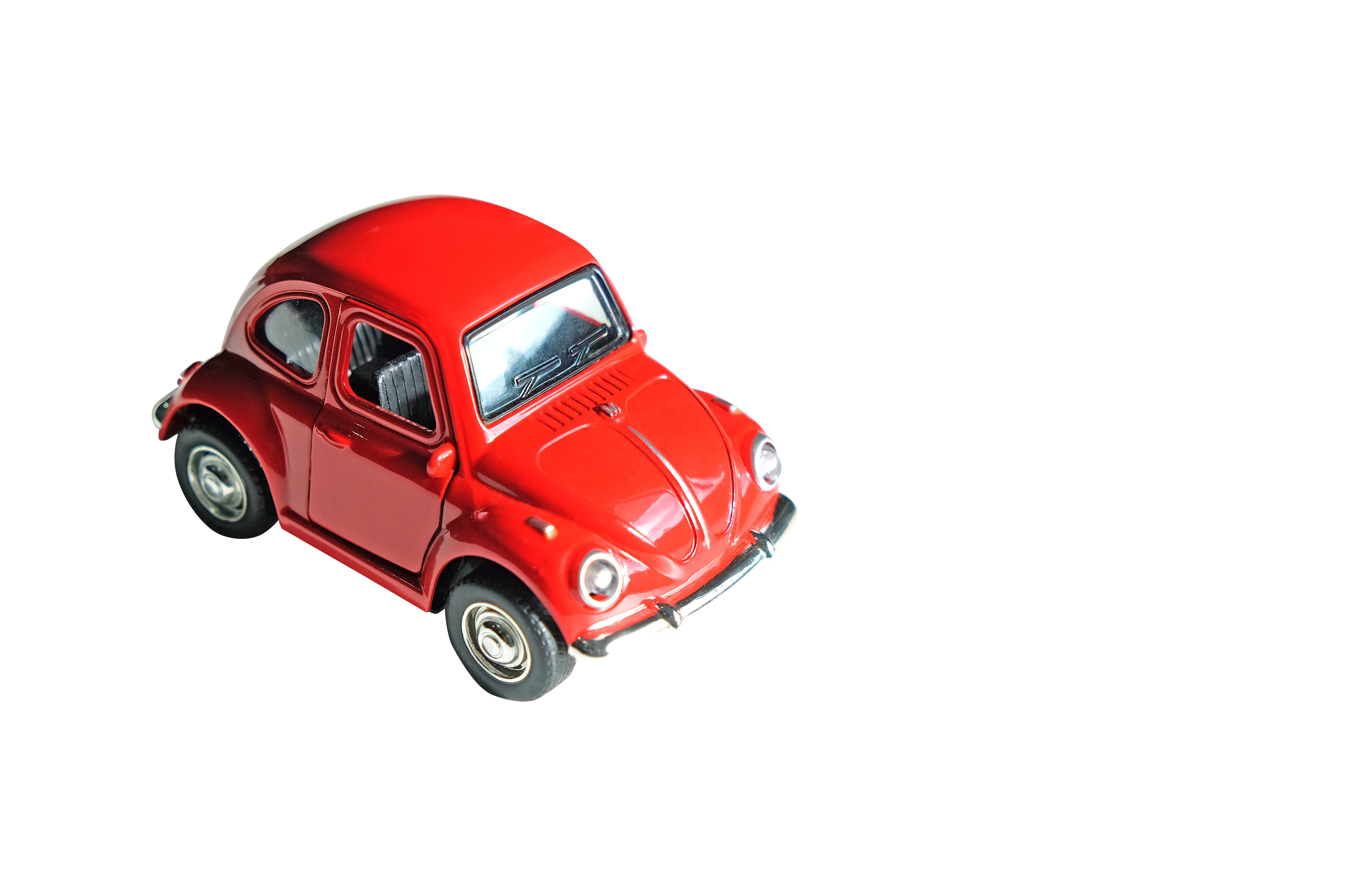 Red Toy Car Transparent Background PNG