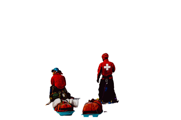 Helpers during accident sports Transparent Background PNG