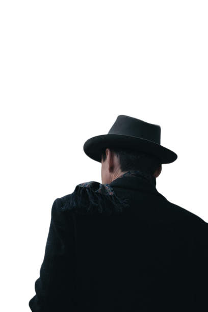 Black men in hat with swag Transparent Background PNG
