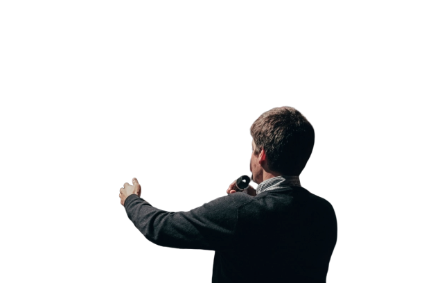 During lecture and speaker Transparent Background PNG
