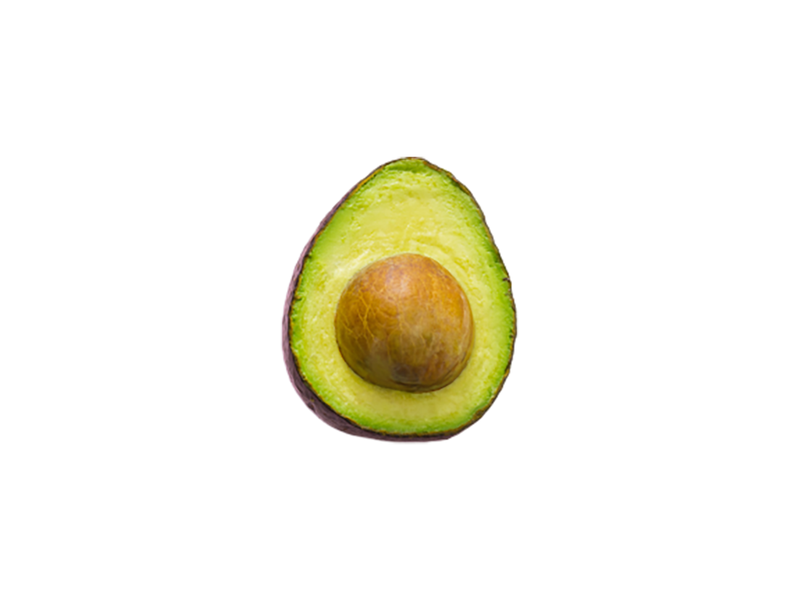 Piece of Avocado transparent background PNG