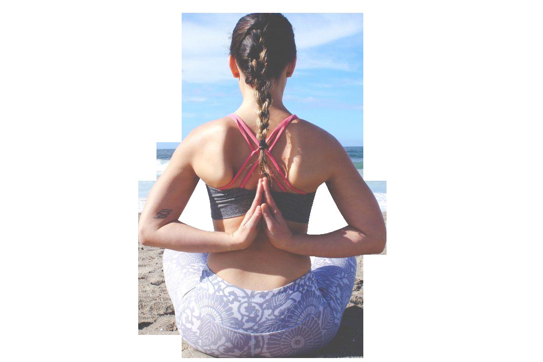 Yoga Back Pose Transparent Background PNG